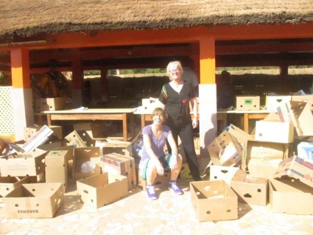Heike & Angelika in Afrika